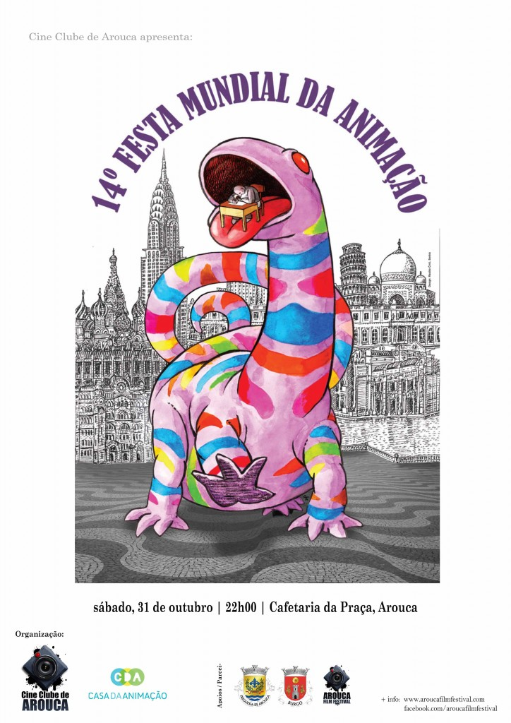 Cartaz Festa Animacao 2015